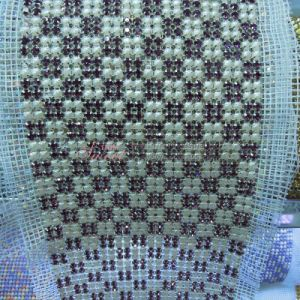 Pearl Design Ribbon Mesh for Sew-on pictures & photos