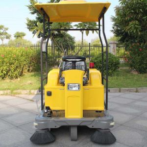 Auto Discharging Electric Street Road Sweeper (DQS12A) pictures & photos
