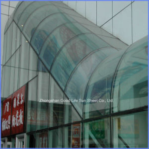 8mm Hollow Twin Wall Roofing Material Polycarbonate Sheet for Awning pictures & photos