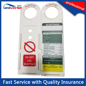 Best Selling Plastic Scaffolding Safety Tag pictures & photos
