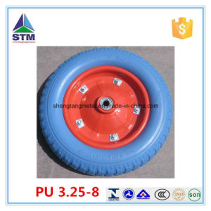 PU Foam Wheels Strong Wear Resistance and None Flat pictures & photos