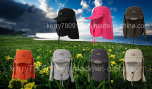 2016 Hot Outdoor Foldable Jungle Quick Drying Cloak Fashion Hat pictures & photos
