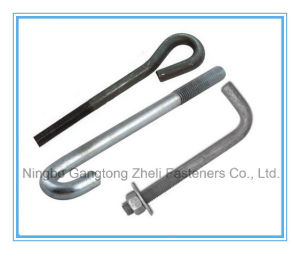 M5-M30 of Zinc Plated Carbon Steel U Bolt pictures & photos