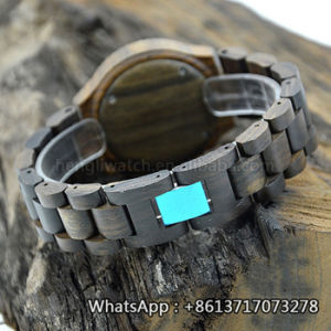 New Environmental Protection Japan Movement Wooden Fashion Watch Bg163 pictures & photos