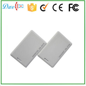 1.8mm Em Chip 125kHz 64 Bit ID Card with Printed Code pictures & photos
