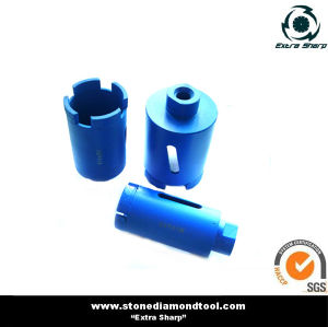 35mm Diamond Dry Core Bit, Vacuum Brazed Drill Bit pictures & photos