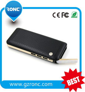 13000mAh 18650 Battery Plastic Mobile Power Bank pictures & photos