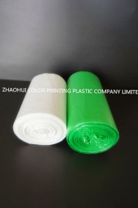 Custom Order Colorful Trash Plastic Bag on Roll pictures & photos