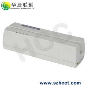 Plastic Ivory RS232 Magnetic Card Reader/Writer (Lo-Co) --HCC2600 pictures & photos