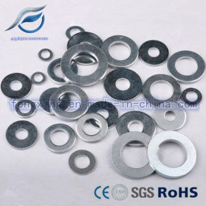 Zinc Plated Flat Washer for Fastener pictures & photos