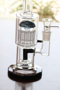Glass Water Pipes with Percolator Recycler Oil Rigs Glass Pipes Smoking Pipes pictures & photos