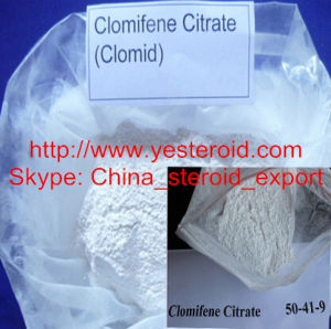 Effective Clomid/ Clomifene Citrate (CAS 50-41-9) for Anti-Estrogen