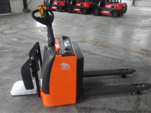 685*1220mm Full Electric Power Pallet Truck pictures & photos