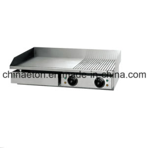 Half Grooved and Half Flat Electric Griddle for Et-Pl-822 pictures & photos