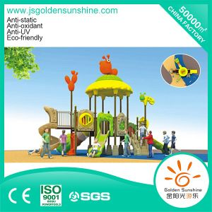 Outdoor Playground Plastic Equipment Slide for Children and Kids (A-012-1) pictures & photos