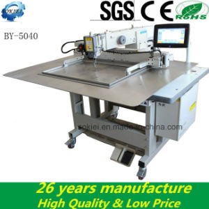 Dongguan Sokiei Automatic Lockstitch Industrial Pattern Sewing Machine for Shoe pictures & photos
