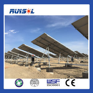 Tilted Single-Axis Linkage Sun Tracker System Made in China pictures & photos