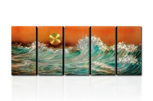 Modern Metal Artworks for Decoration - Rising Sun (CHB6015044) pictures & photos