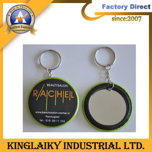 Metal Mirror Keyring for Promotional Gift pictures & photos
