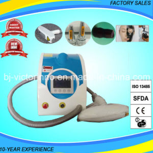 Portable Q Switched ND YAG Laser Tattoo Removal Machine pictures & photos