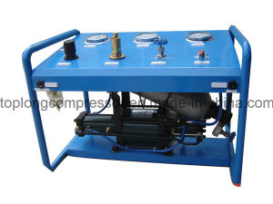 Top Quality Oil Free Air Driven Gas Booster pictures & photos
