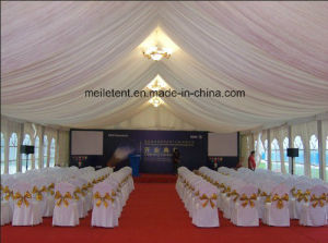 Luxury Marquee Party Event Tent Canopy Tent with Inside Lining pictures & photos