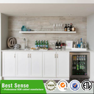 Shaker Style Solid Wood Home Bar pictures & photos