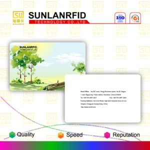 PVC Printing Card with Samrt Chip Produce by Sunlanrfid pictures & photos