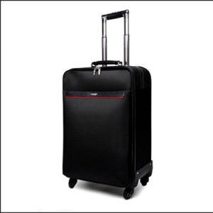 The 2015 Black Grade a Nylon Luggage Set (hx-q065) pictures & photos