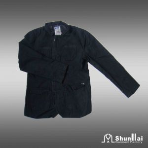 Men′s 100% Cotton Fashion Jacket for Spring and Autumn