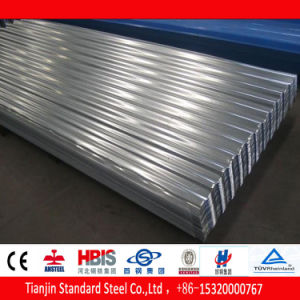 0.12 Thickness Galvanized Waving Steel Sheet Dx51d pictures & photos