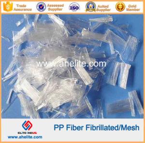 PP Fibrillated Fiber Polypropylene Mesh Fibre pictures & photos
