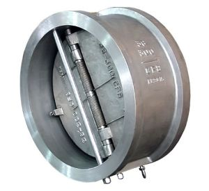 Stainless Steel Flanged Dual Plate Check Valve pictures & photos