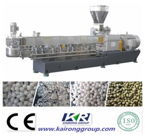 Wood Compound Plastic Granules Extrusion Machine pictures & photos