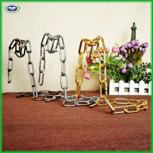 Metal Chain Tabletop Wine Bottle Display Stand Rack