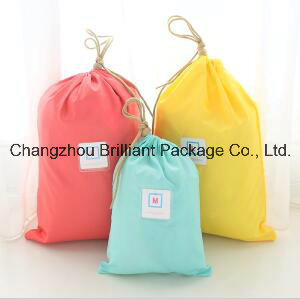 Nylon Polyester Drawstring Backpack for Traveling pictures & photos