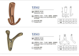 Furniture Accessories Zinc Alloy Clothes Hook pictures & photos