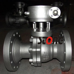 API Cast Floating Ball Valve with Reduce Bore 150lb 300lb pictures & photos