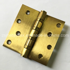 Stainless Steel 4 Inch 4 Ball Bearing Door Hinge (114040) pictures & photos