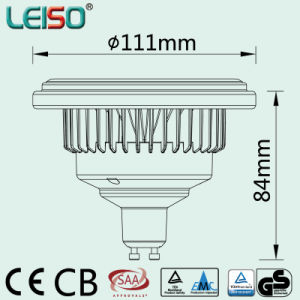 Standard Size Scob GU10 LED AR111/LED Lamp (LS-S618-GU10) pictures & photos