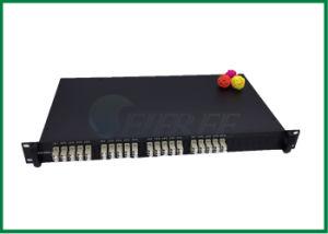 Gpon Epon 850/1300nm Om1 mm 50/50 Acoplamiento Ratio 1X2 Fbt Fiber Optic Coupler pictures & photos