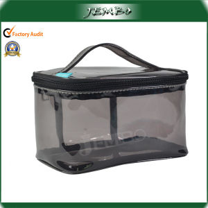 PVC Fashion Travel Cosmetic Bag with Handle pictures & photos
