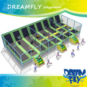 Dreamfly Trampoline with Inside Safe Net