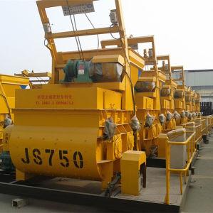 Js750 Horizontal Twin-Shaft Concrete Mixer for Sale pictures & photos