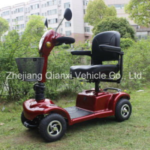 Elderly and Disabled Adjustable Seat Electric Mobility Scooter pictures & photos