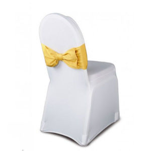 Polyester Spandex Folding Chair Cover Slipcover for Wedding Party (DPF107124) pictures & photos
