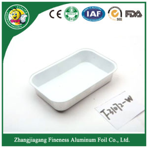 Aluminium Foil Casserole with FDA Certificates (F31072-W) pictures & photos