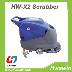 Warehouse Workshop Epoxy Floor Electric Scrubber Dryer pictures & photos