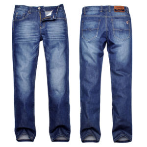 Wholesale Cheap Men′s Slim Fit Stretch Denim Jeans pictures & photos