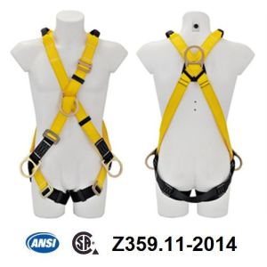 ANSI Full Body Harness (JE146026+JE322204C) pictures & photos